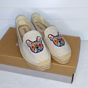 New in Box Soludos Espadrilles with Frenchies!